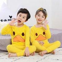 Pijamas invierno manga larga gilrs chico navidad algodón noche ropa de dibujos animados niños pijama establece ropa de dormir para niños para