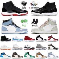nike air jordan retro 1 1s 11 11s off white Basketbol Ayakkabıları Düşük Efsane Mavi Narenciye Kadınlar Jumpman Eğitmenler Sneakers
