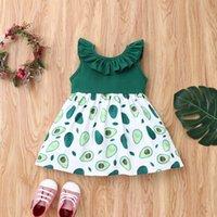 Girl's Dresses Children Girl Dress Summer Child Girls Clothing Cotton Sleeveless Flower Kids For Baby Clothes