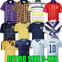 1978 Final de la Copa Mundial Scotland Retro Fútbol Jersey 1982 1986 1991 1993 1998 1988 1989 91 92 93 95 96 98 Maillots Classic Vintage Ocio Hendry Lambert Football Shirt