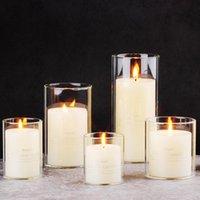 ضياء 8 سنتيمتر حاملي شمعة للشموع الديكورات المنزلية الزفاف الشمال الوقوف الزهور حامل عصا حامل