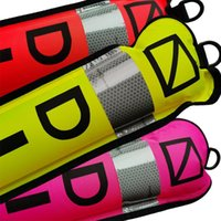 Pool & Accessories 1.2m 1.5m 1.8m Scuba Diving Inflatable Marker With High Visibility Reflective Band Surface Buoy