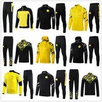 20 21 Mens HAALAND REUS soccer tracksuit jacket 2020 2021 men football tracksuits training suit jackets survetement chandal jogging