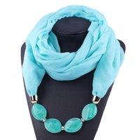Scarves 25# Scraf Women Cotton Linen Necklace Pendant Scarf Ethnic Style Soft Neck Gaiter Winter