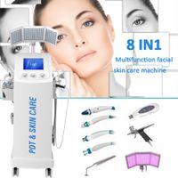 المهنية 8 in1 هيدرا المياه الجلدية مع الرفع الحيوي آلة الوجه آلة الوجه / هيدرو microdermabasion آلة لاستخدام صالون تجميل