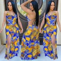 Dorywczo odzież Odzież Drop Drukuj Lato Boho Przezroczyste Sukienka Damska Sukienka Kobiet Sundress Wakacje Ubrania Panie Deleniec