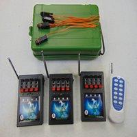 12 Cues Transmitter Schakelaar Feestartikelen Kerstcadeau Kleine Key Remote Nieuwe Aankomst Ematches Salvo Speciale effecten Stap Brandontsteking Draadloze Waterdichte Doos