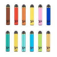 XTRA Disposable E Cigarette Vape Pod Device 1500 Puffs 5ml Prefilled Vapor Bar Stick Ecig Starter Kit