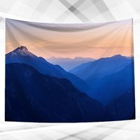 Tapestries 1Pc Decorative Tapestry Creative Hanging Wall Blanket For Home Party