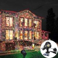Mobile gypsophila laser projector landscape lighting Christmas party LED stage lights outdoor garden lawn laser lights