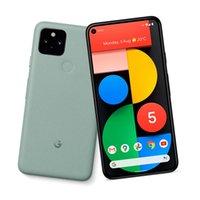 Original Google Pixel 5 5G Mobiltelefon 8 GB RAM 128 GB ROM Snapdragon 765G Android 6,0 Zoll Vollschirm 16MP HDR NFC Gesicht ID Fingerprint 4080mAh Smart Handy