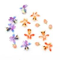1 pcs / sac acrylique goldfish Shape Shape Beads Perles Pandents pour Bricolage Boucle d'oreille Bijoux Colliers Accessoires