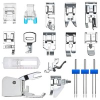 Sewing Notions & Tools Machine Presser Feet Walking Kit Foot Household Accessories,Sewing Double Needles