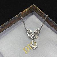 Luxury Brand Brooch Dijia 2021 new women's light luxury dioo Butterfly Bracelet sweet and lovely net red same hand jewelry