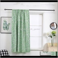 Treatments Textiles Home Garden Drop Delivery 2021 Printed Curtains Living Room Bedroom Blackout Curtain Window Treatment Blinds Finished Dra
