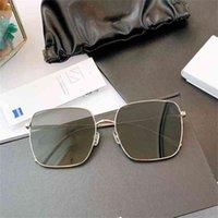 Gafas de sol de moda 2021 Marca de lujo Diseño suave Diane Square Titanium Mujeres Hombres Vintage Lady Óptico UV400 con estuche