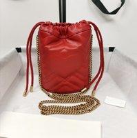 Latest 2021 Drawstring Bag Luxurys Designers Bags Bucket Handbags String Shoulder Women Totes High Quality Fashion Leather CrossBody Clutch Purse Wallet Lady