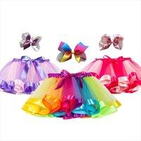 Tutu Baby Mädchen Prinzessin Kinder Frauen Röcke Einhorn Regenbogen Bunte Kinder Party Für Mädchen Mini Pettiskirt Kleidung