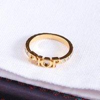 Fashion Gold Letter anelli anelli anello BAGUE PER LADY DONNE DONNA PARTY AMANDE AMANDE GIOCAGLIE GIOCAGLIE