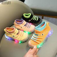 Athletic & Outdoor Children Kids Baby Girls Boys Sneakers Bling Led Light Luminous Sport Shoes