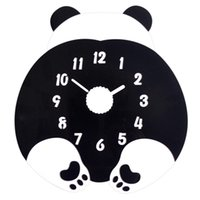 Acrylic Cute Wall Clock Modern Silent Art Small Unique Kids ...