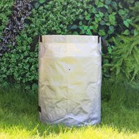 Planters & Pots Durable Waterproof Large Capacity Garden Trash Bag Reusable Grass Bucket Storage Home Garbage