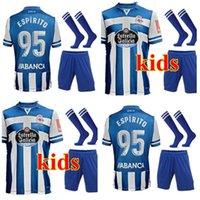 20 21 Депортиво де ла Coruna Soccer Trackss Home Kity Kit Mollejo 2021 молодежный ребенок M.kone Sabin Aketxe Santos футбольная футболка