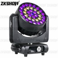 80% Discount 2PCS Lot 37*15W ZOOM Wash LED Moving Head Light for DJ Disco Party Wedding Nightclub Show Event Hire Pro Stage Lighting Effect Equipment
