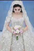 2021 Newest Elegant White Tulle Lace Applique Sweetheart Ball Gown Vintage Plus Size Wedding Dresses Bridal Gowns
