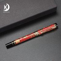 2020 Jinhao Millennium Dragon Pen Hecho en China Buena calidad Pen Signature Pluma Hollow Cuerpo Signature Signature Luxury Pen @ Yamalang3