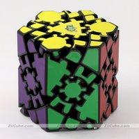 Lanlan Magic Cube Gear Sechseckige Säule Cube 8 Gesichter Seltsame Form Spalte Pfosten Aufkleber Logik Puzzles Twist Pädagogische Spielzeug
