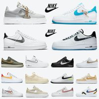 Nike Air Force 1 Force One af1 Pixel Salmon Heel dunk Sail Snake Low mens running shoes platform black white shadow react Leopard Stitching N354 men women trainer sports sneakers