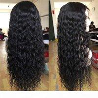 2021 Nuevo estilo popular peluca europea y americana Lady Lace Chemical Fiber Fibra larga Curly Hair Temperamento Daily Temperamy Peluca Punto al Por Mayor