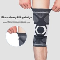Elbow & Knee Pads 1 PC Elastic Silicone Sports Fitness Kneepad Protective Gear Patella Brace Support Running Basketball Volleyball#g4