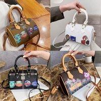 حقيبة المصممين القديم الفمز حقائب اليد أكياس نانو كتابات الشهيرة السيدات الأزياء crossbody بوسطن ماركة سبيعية المرأة وسادة زهرة فرط lusb