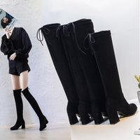 The latest women's boots in spring and summer 2021 designer customized luxury middle heel series high heels, wearing fashion style outside
