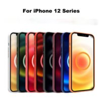 Luxury Official Liquid Silicone Case for iPhone12 12 Pro Max Case Magnetic New Animation Wireless Charge Cover for iPhone case