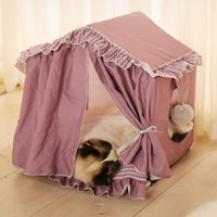 Kennels & Pens Portable Folding Dog House Pet Tent Cage Cat Carrier Playpen Puppy Kennel Breathable Fence Bed For Indoor Outdoor