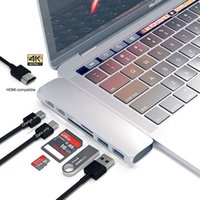 USBC Hub Thunderbolt 3 Dock Type C with HDMI compatible Rj45 1000M Adapter TF SD Reader PD 3.0 for MacBook Pro Air M1 Type-c