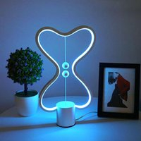 Table Lamps USB RGB Lamp Living Room Bedroom Bedside Round Symphony LED Dimming Warm Atmosphere Light Night
