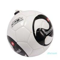 Nova bola bola de futebol Beginner Futebol Bola de Futebol Cinto Equipamento de Treinamento Padrão Profissão Profissão Bolas Tamanho 2