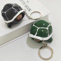Decompression Toys Cute Squishy Shrink head tortoise Crowded Stress BallKeychain Kids Squeeze Baby Key-chainDecompression Toy