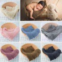 Born Bord Baby Pog Pog Pog Po Costume Младенческие вязаные хлопчатобумажные плиты Southling мягкое одеяло одеяло для мальчика девушка одеяло 210712