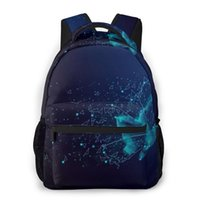 School Bags OLN For Teenagers Boys Bag Boy Butterfly Abstract Students Book Satchels