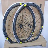 رمادي كوني سبيكة الكربون العجلات 50 ملليمتر 700C الألومنيوم ألياف الكربون الطريق دراجة سباق العجلات الفاصلة اللامع النهاية