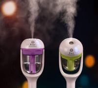 4 couleurs Humidificateur d'air de voitures fraîches rafraîchissantes parfums huiles essentielles humidificateur ultrasonore humidificateur arôme Diffuseur