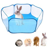 Pet Playpen Portable Open Indoor Outdoor Small Animal Cage Tent Fence For Hamster Chinchillas And Guinea-Pigs Kennels & Pens