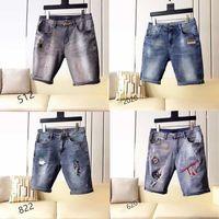Little bird mens jeans shorts bee embroidery jeans Motorcycle Biker Denim pants Men Brand fashion Designer Hip Hop Mens Jeans 28-38