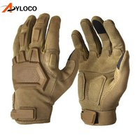 Touch Screen Tactical Gloves Army Military Combat Airsoft Outdoor Hiking Climbing Shooting Paintball Full Finger