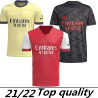 424 Top Arsen Soccer Jersey 21/22 Pepe Nicolas Ceballos Guendouzi Sokratis Maitland-Niles Tierney 2022 2021 축구 셔츠 남성